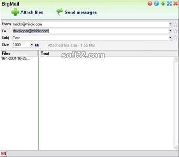 Bigmail Screenshot