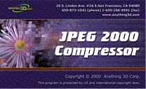 JPEG 2000 Compressor Screenshot 1
