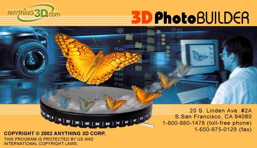 3D Photo Builder Screenshot