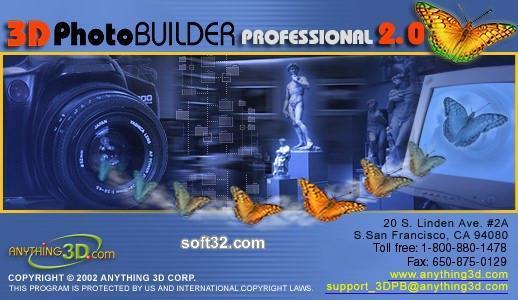 3D Photo Builder Professional Edition Screenshot 2