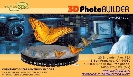 3D Photo Builder Upgrade Screenshot