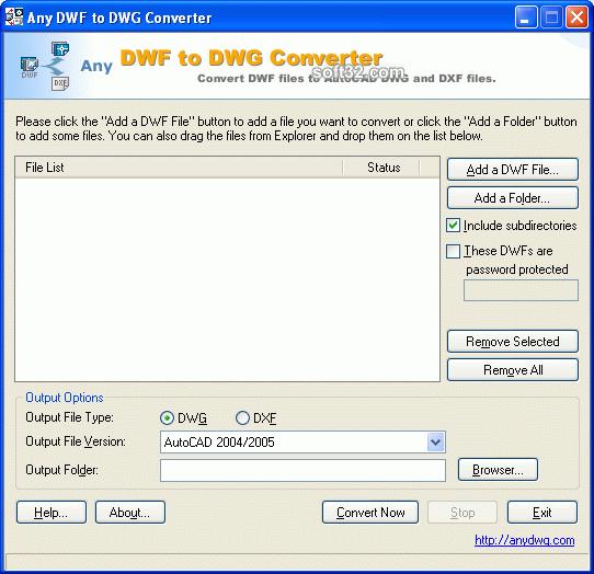 AutoCAD DWF to DWG Screenshot 2