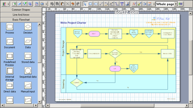 EDraw Flowchart ActiveX Control Screenshot 2