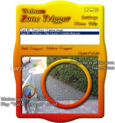 Webcam Zone Trigger Screenshot 3