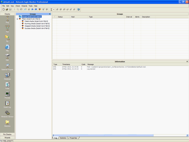 Network Eagle Monitor Professional Screenshot 1