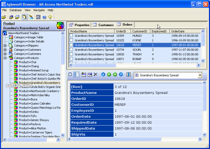 Aglowsoft SQL Query Tools Screenshot 3
