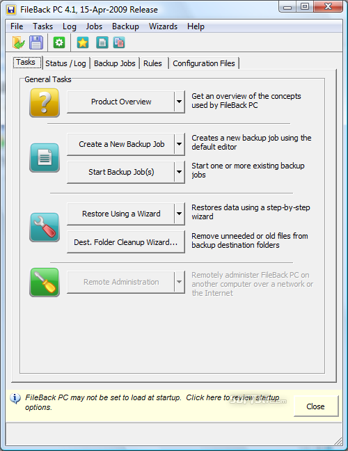 FileBack PC Screenshot 7