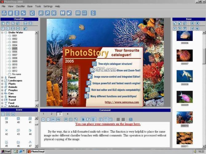 PhotoStory 2005 - Organize Your Photos Screenshot