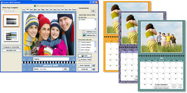 EZ Photo Calendar Creator Screenshot