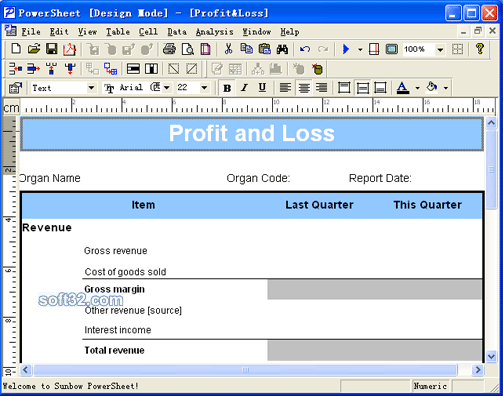 PowerSheet Screenshot 1