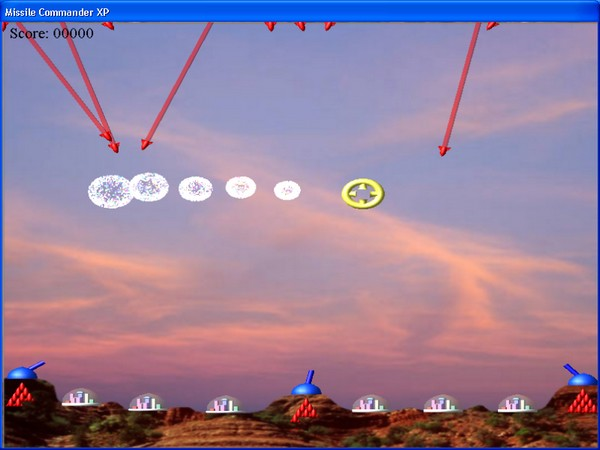 Missile Commander XP Screenshot