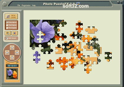 Photo PuzzleFX Screenshot 2