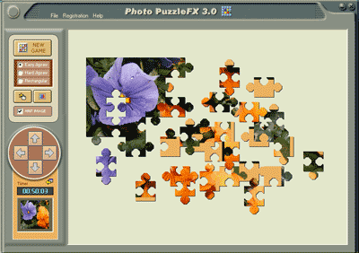 Photo PuzzleFX Screenshot