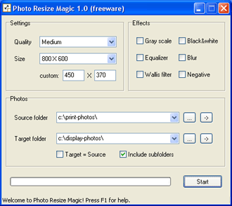 Photo Resize Magic Screenshot