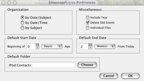 EntourageEvents Screenshot 1
