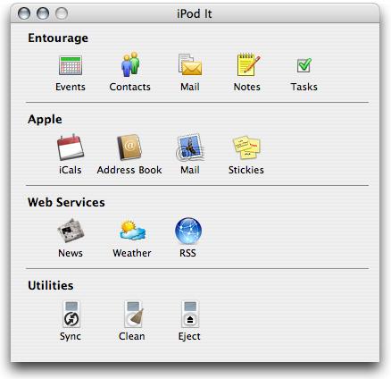 iPod It Screenshot