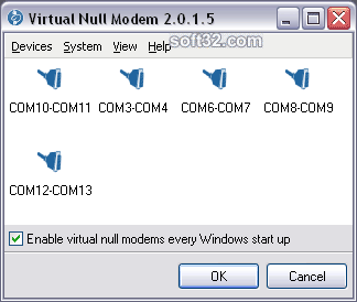 Virtual Null Modem Screenshot 2