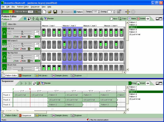 Beatcraft drum machine Screenshot 3