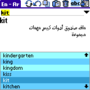 Arabic-English-Arabic Palm dictionary 1