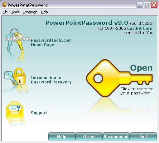 LastBit PowerPoint Password Recovery Screenshot 2