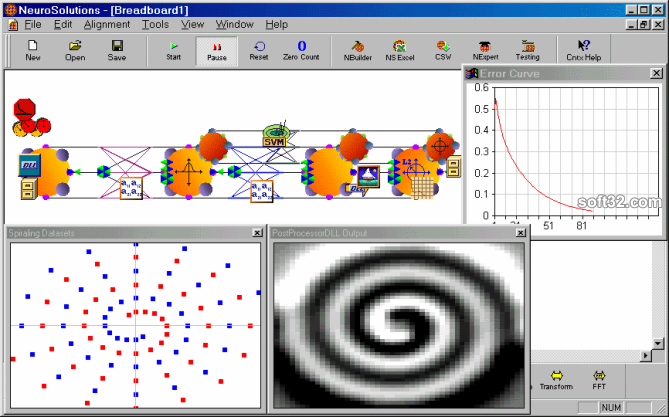 NeuroSolutions Screenshot 2