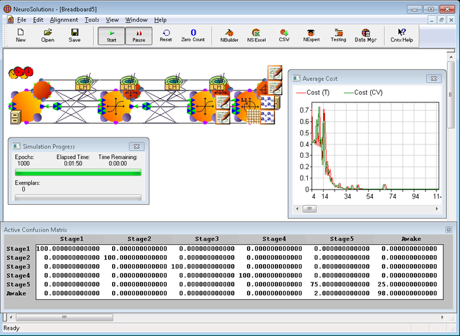 NeuroSolutions Screenshot