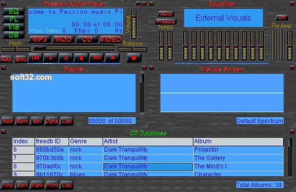 Passion Audio Player Screenshot 2
