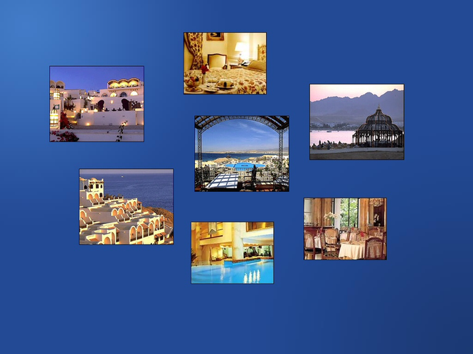 Hotels Information Online Screensaver Screenshot