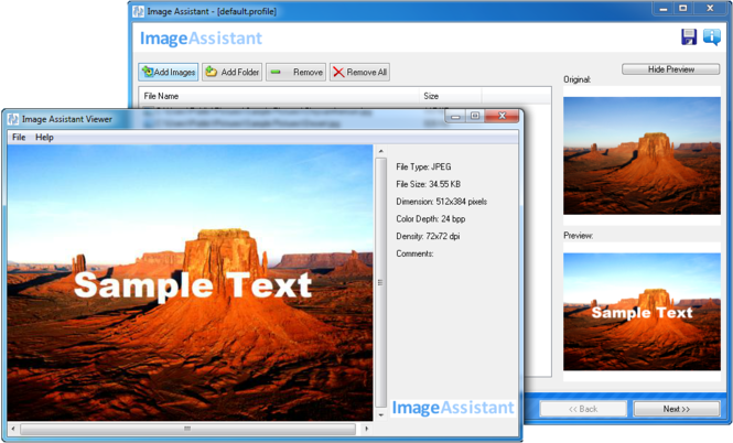 Image Assistant Screenshot 2