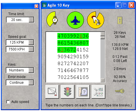 Agile 10 Key Screenshot