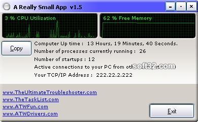 A Really Small App Screenshot 2