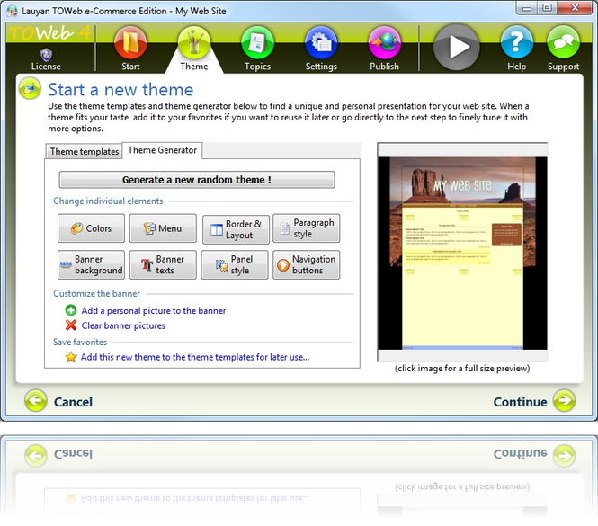 TOWeb Screenshot 3