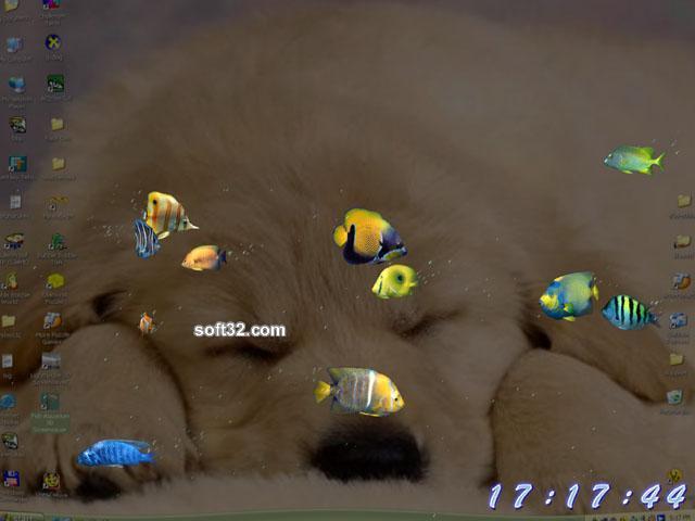 TERMINAL Studio Fish Aquarium 3D Screensaver Screenshot 2