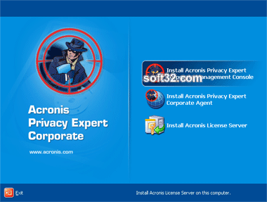 Acronis Privacy Expert Corporate Screenshot 2