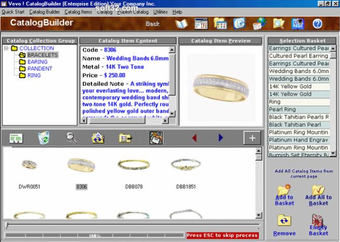 Vevo! CatalogBuilder Screenshot 2