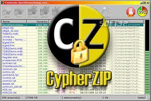 CypherZIP Screenshot