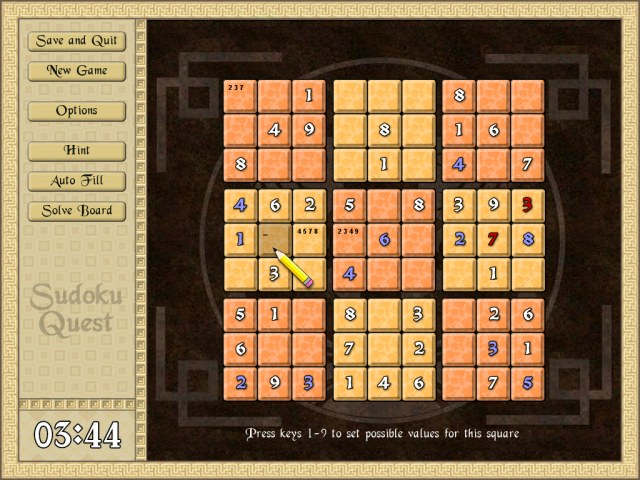 Sudoku Quest Screenshot 2