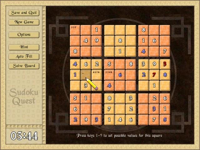 Sudoku Quest Screenshot 1