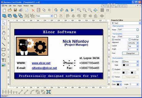 Business Card Studio Screenshot 2