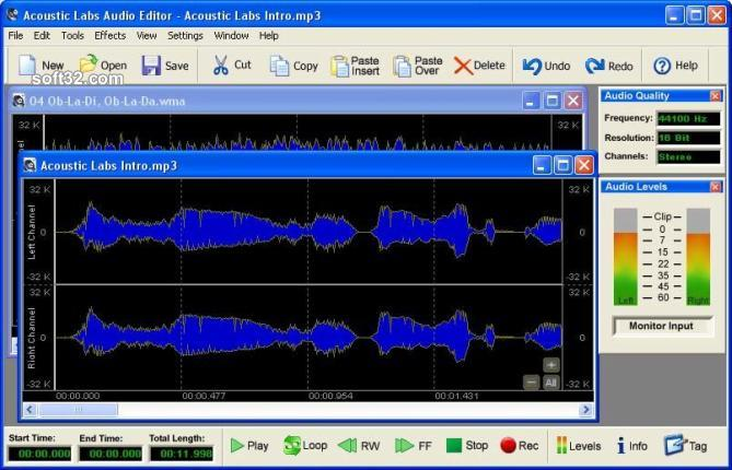 Acoustic Labs Audio Editor Screenshot 2