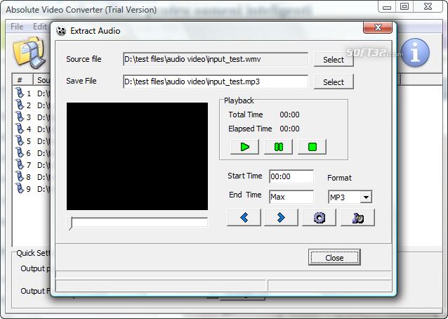 Absolute Video Converter Screenshot 4