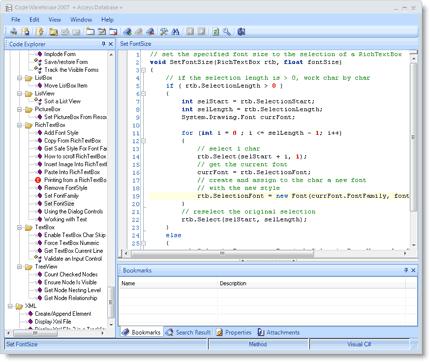 CodeWarehouse Screenshot 2