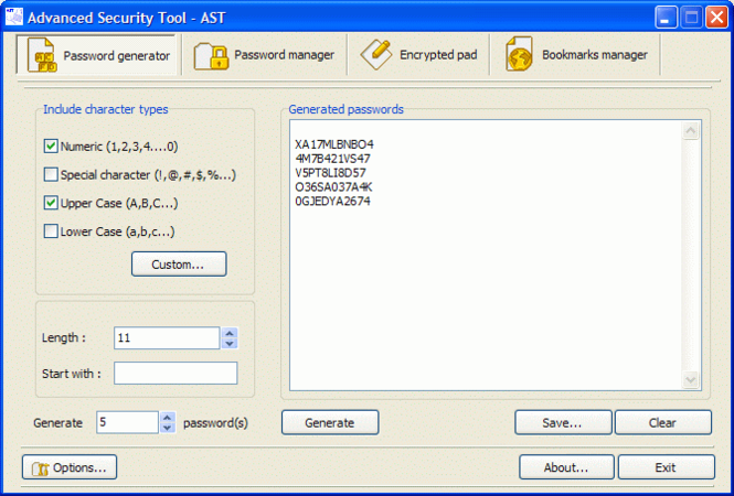 Advanced Security Tool - AST Screenshot 1