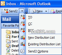 Send2 for Outlook Screenshot 3