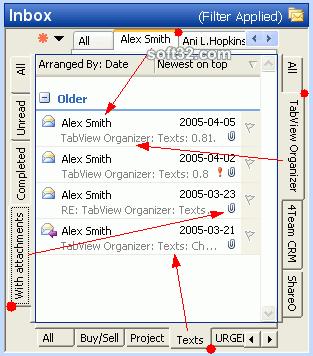 TabView Organizer Screenshot 3