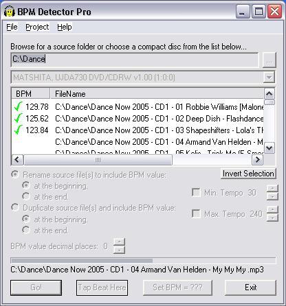 BPM DETECTOR PRO Screenshot