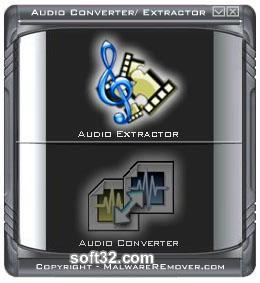 Advanced Audio Converter Extractor Screenshot
