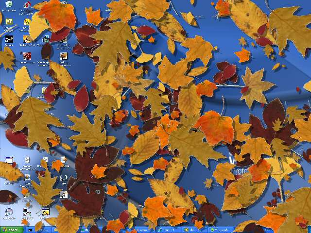 Desktop Autumn Screensaver Screenshot 1