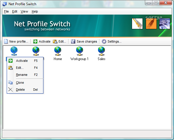 Net Profile Switch Screenshot 7