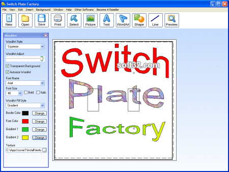 Switch Plate Factory Screenshot 1